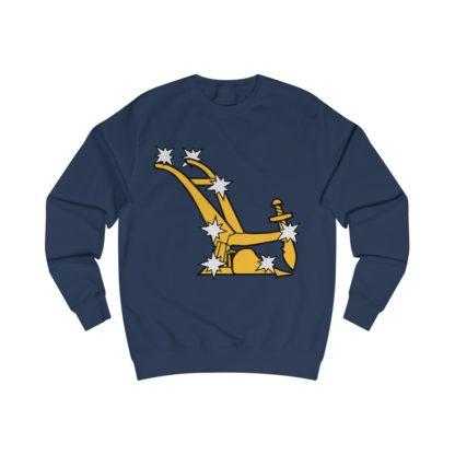 starry plough sweatshirt navy