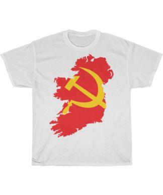 communist ireland t shirt white