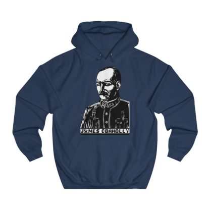 james connolly hoodie navy