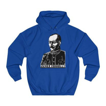james connolly hoodie royal blue