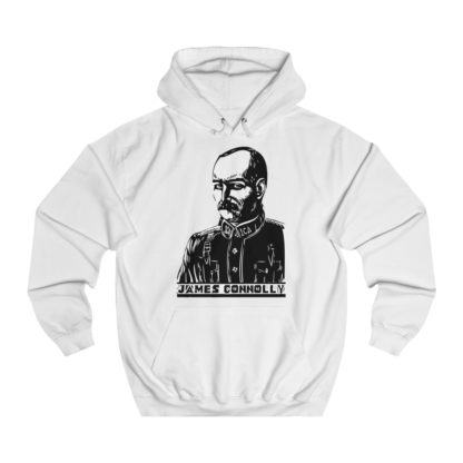 james connolly hoodie white