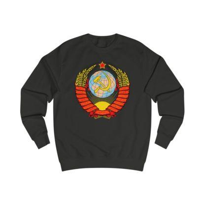 soviet crest ussr sweatshirt black