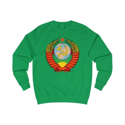 soviet crest ussr sweatshirt irish green