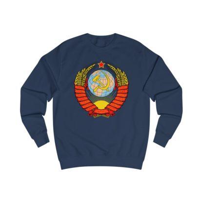 soviet crest ussr sweatshirt navy