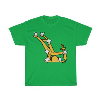 starry plough t shirt irish green