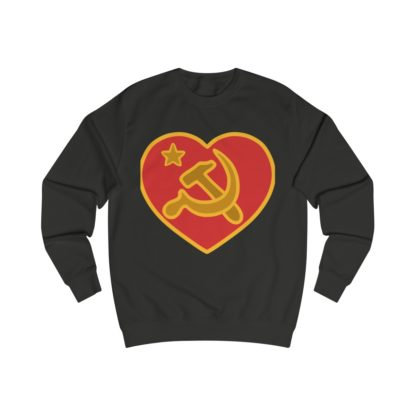 we love communism sweatshirt black