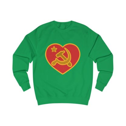 we love communism sweatshirt irish green