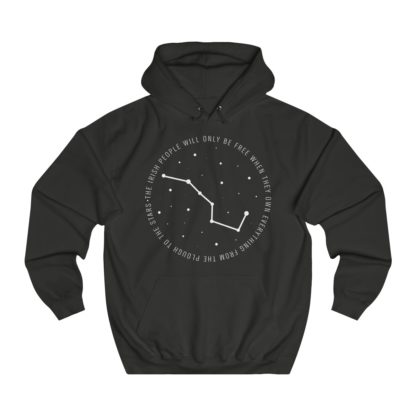 34107-4.the irish people will only be free when they own everything from the plough to the stars hoodie black