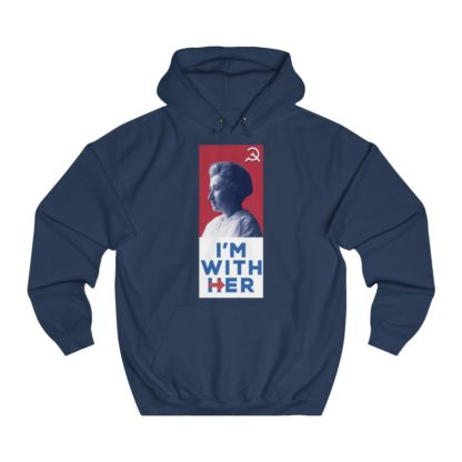 34109-2.im with her rosa luxemburg hoodie navy