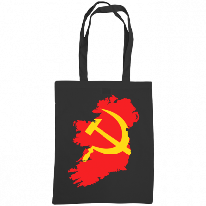 communist ireland bag black