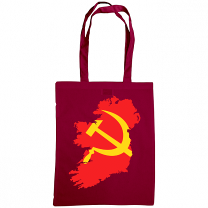 communist ireland bag burgundy
