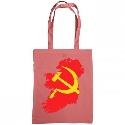 communist ireland bag classic pink