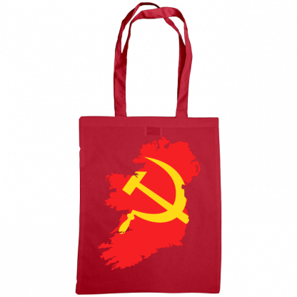 communist ireland bag cranberry