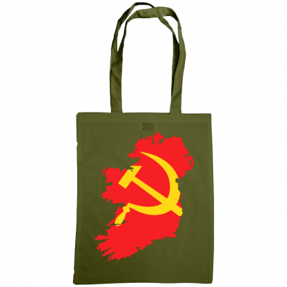communist ireland bag olive