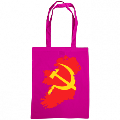 communist ireland bag pink