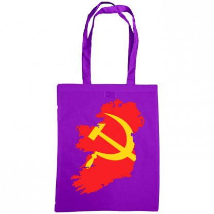 communist ireland bag purple
