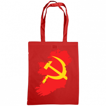 communist ireland bag red