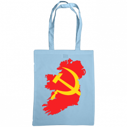 communist ireland bag sky blue