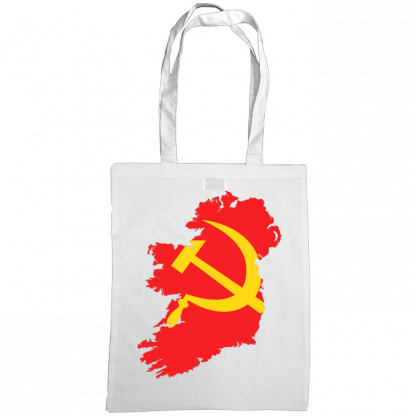 communist ireland bag white