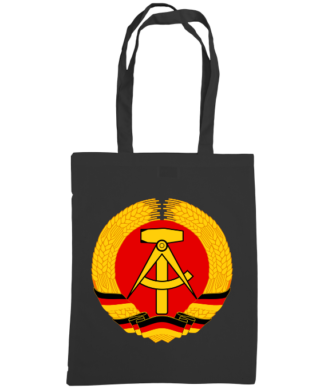 german democratic republic bag black