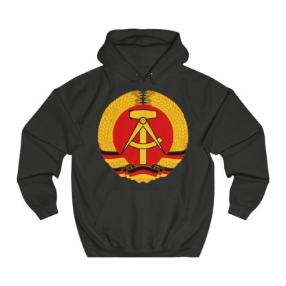 german democratic republic hoodie black