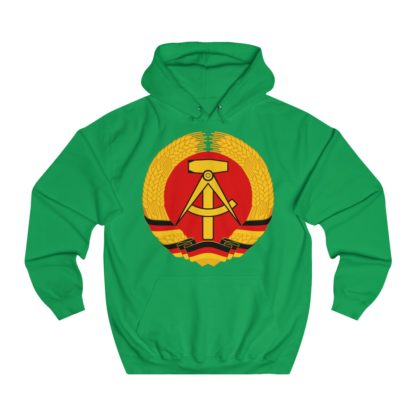 german democratic republic hoodie irish green