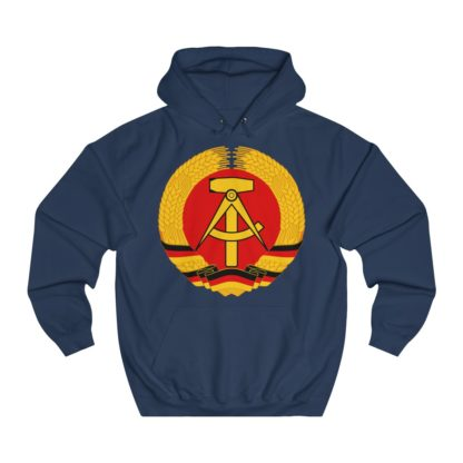 german democratic republic hoodie navy