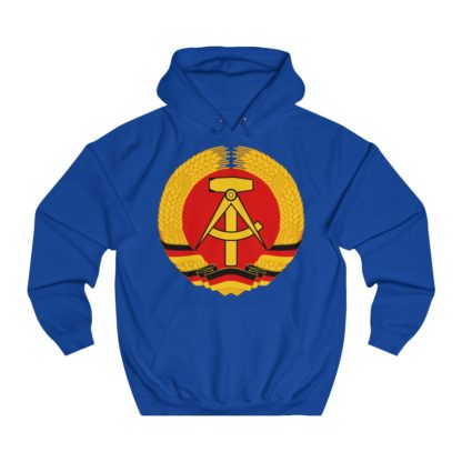 german democratic republic hoodie royal blue
