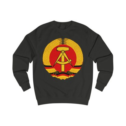german democratic republic sweatshirt black