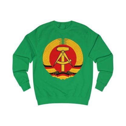 german democratic republic sweatshirt irish green