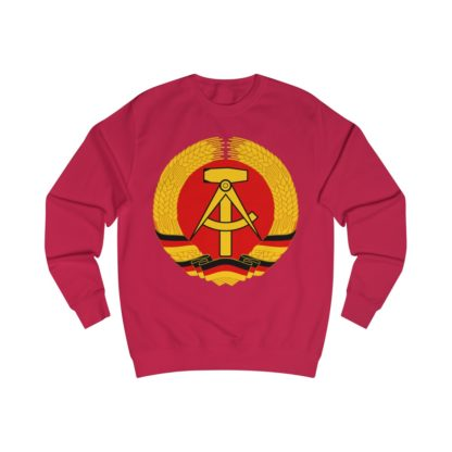 german democratic republic sweatshirt red
