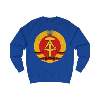 german democratic republic sweatshirt royal blue