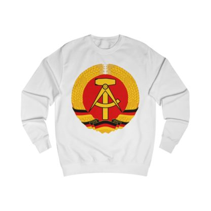 german democratic republic sweatshirt white
