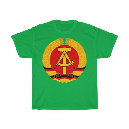 GDR german democratic republic t shirt irish green