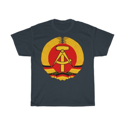 GDR german democratic republic t shirt navy