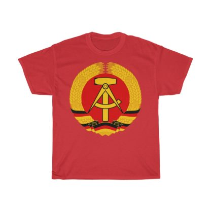 german democratic republic t shirt red