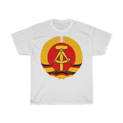GDR german democratic republic t shirt white