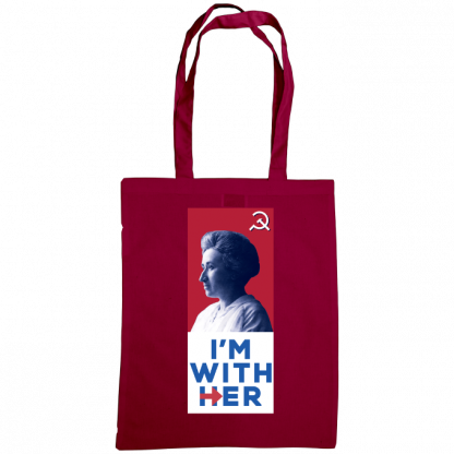im with her bag rosa luxemburg burgundy