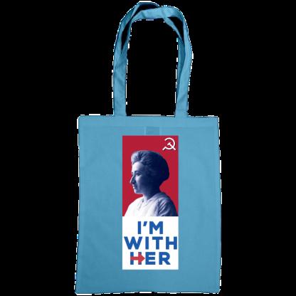 im with her bag rosa luxemburg cornflower