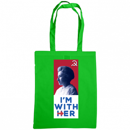 im with her bag rosa luxemburg green
