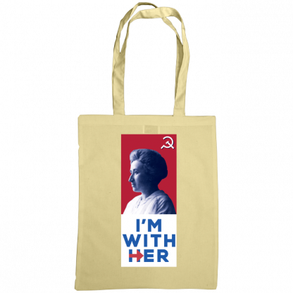 im with her bag rosa luxemburg natural