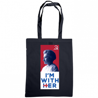im with her bag rosa luxemburg navy