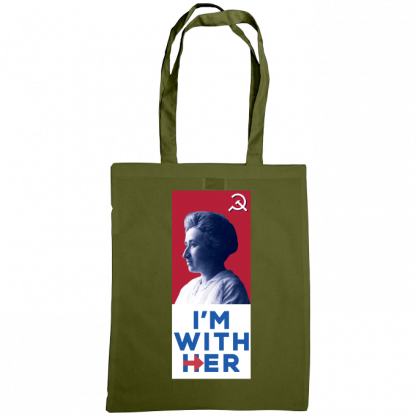 im with her bag rosa luxemburg olive