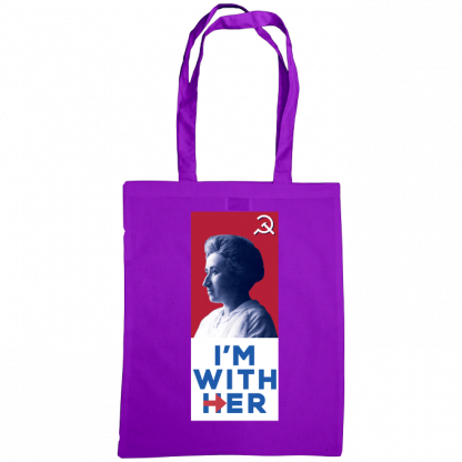 im with her bag rosa luxemburg purple