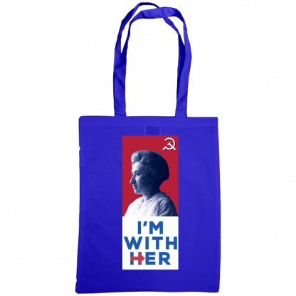 im with her bag rosa luxemburg royal blue