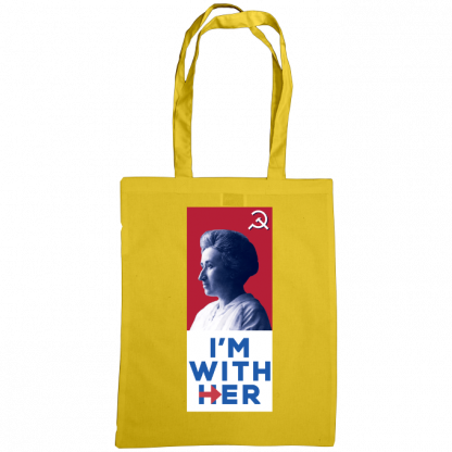 im with her bag rosa luxemburg sunflower