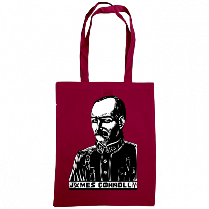 james connolly bag burgundy