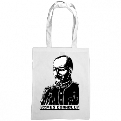 james connolly bag white