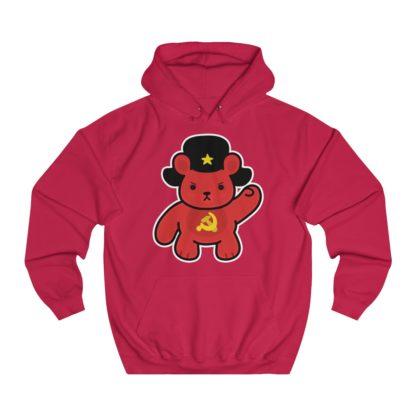 sharebear hoodie red