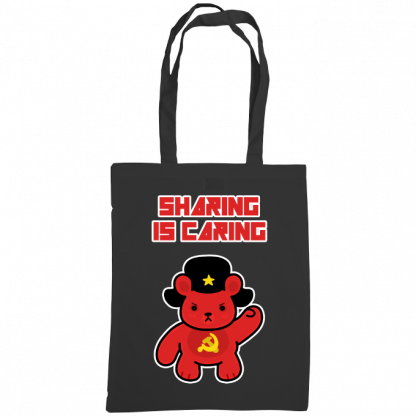 Sharing is caring sharebear bag black.png
